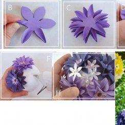 Mariposas y flores para decorar la sala en primavera (3)