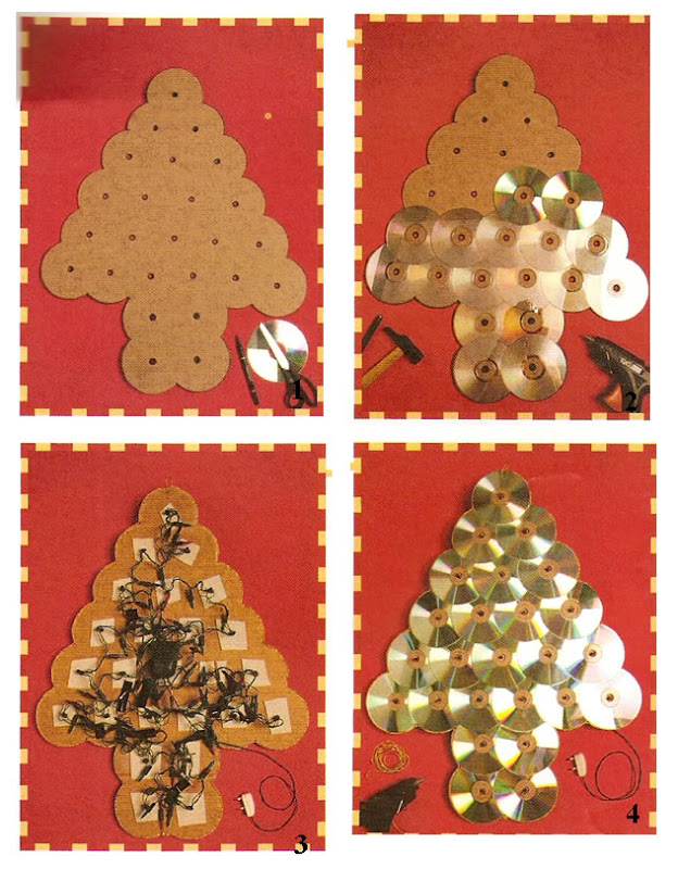 Rbol de navidad para decorar la sala maestra jardinera for Arbol de navidad mural