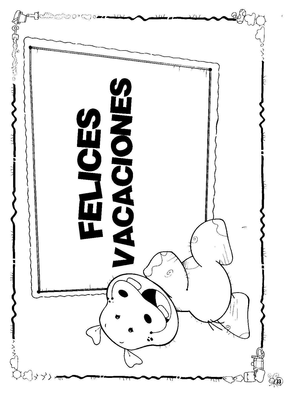 Ideas Y Tarjetas De Vacaciones Maestra Jardinera