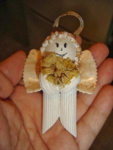 Souvenir navideño de angelito (6)