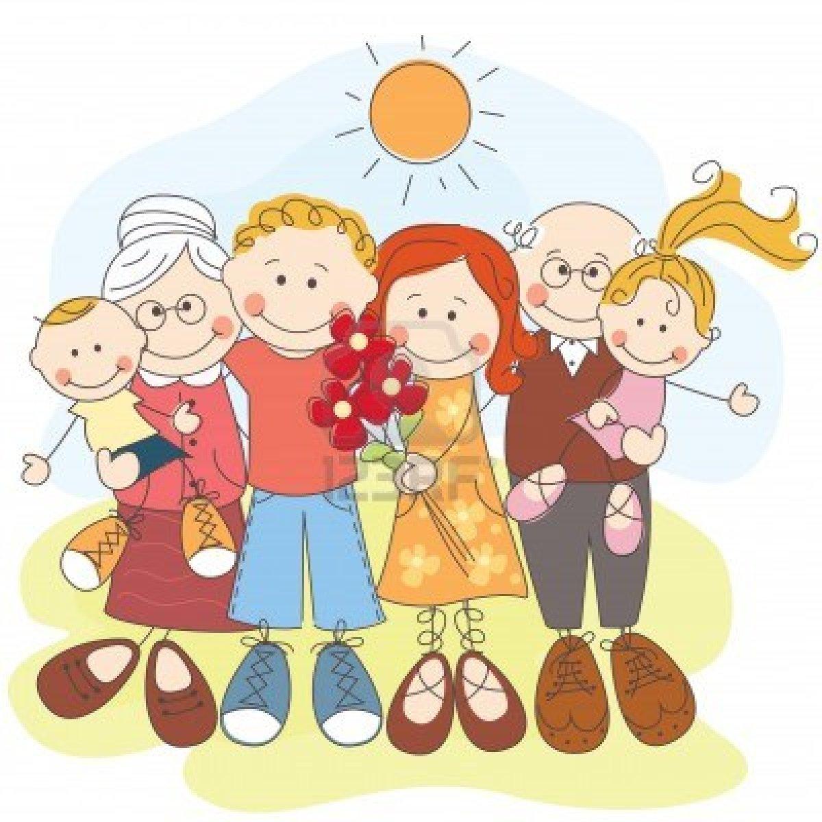 Im genes de la familia maestra jardinera for Concepto de la familia para ninos