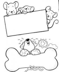 Etiquetas y notas de animales (8)