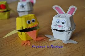 Reciclado con cajas de huevos (21)