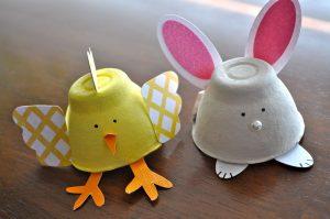Reciclado con cajas de huevos (8)