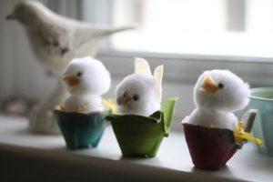 Reciclado con cajas de huevos (9)