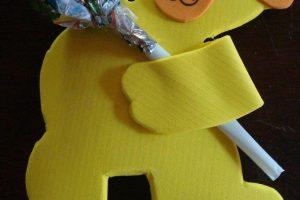 Regalos sencillos con caramelos