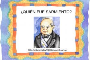Cuento de Sarmiento para el día del maestro